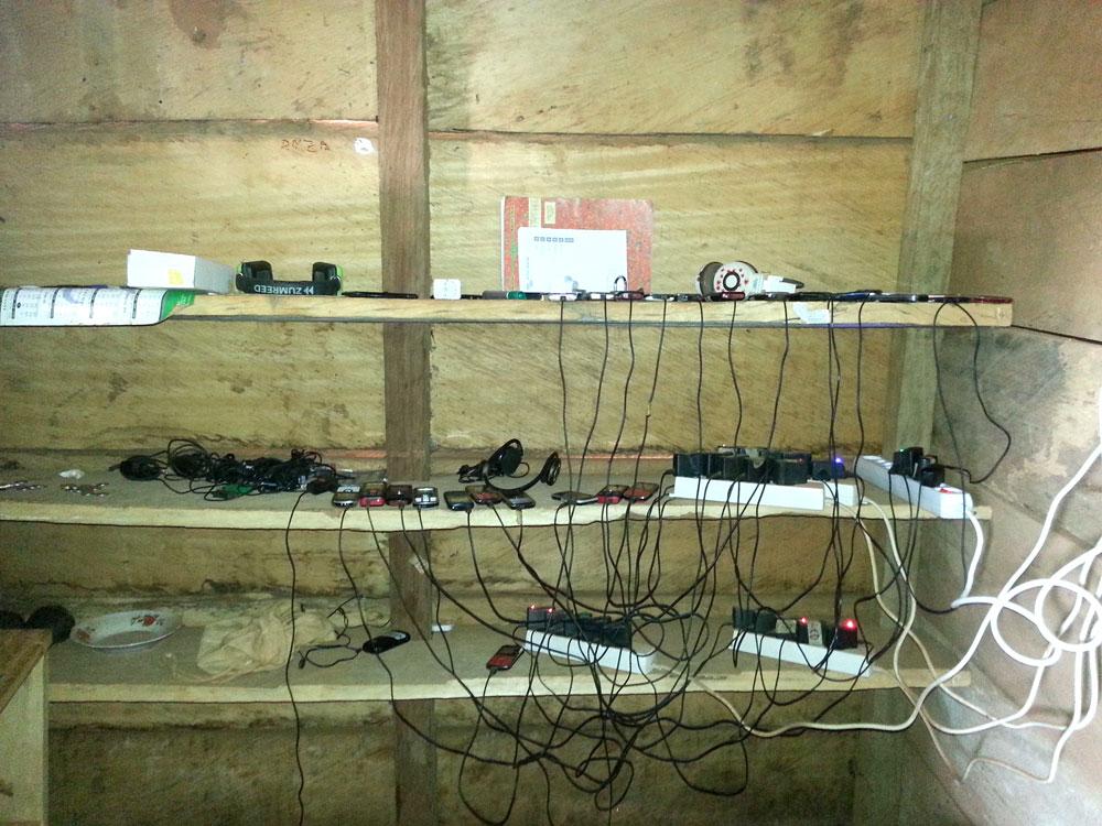 Zentraler Ladeort mit Solarstrom